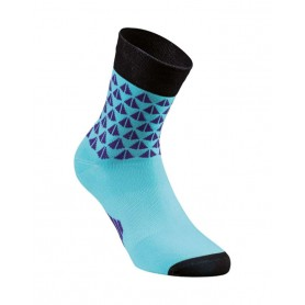 Calcetines Mujer Specialized SL Elite Summer - Negro/Azul turquesa