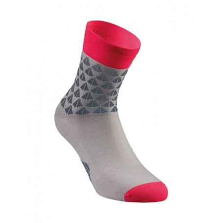 Specialized SL Elite Women's Summer socks - Grey/Acid Red