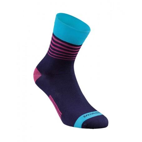 Specialized RBX Comp Women's Summer socks - Blue/Neon Blue