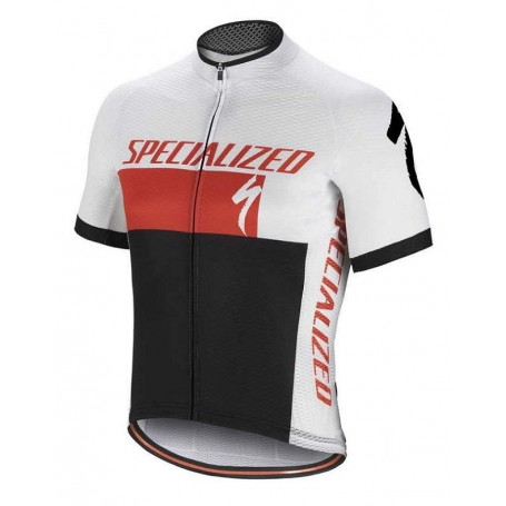Maillot corto Specialized RBX COMP blanco y negro