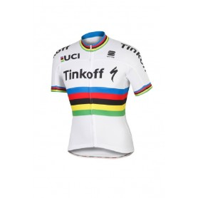 Maillot corto Sportful Peter Sagan campeón WC Tinkoff - back