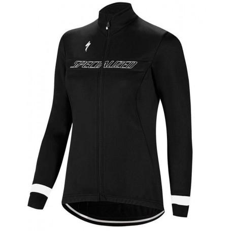 Chaqueta mujer Specialized Element RBX Sport Logo Negro Blanco