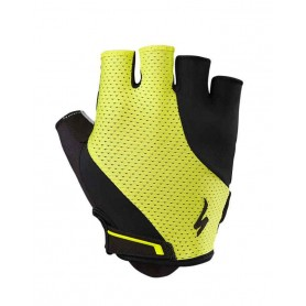 Specialized BG Gel short finger gloves yellow