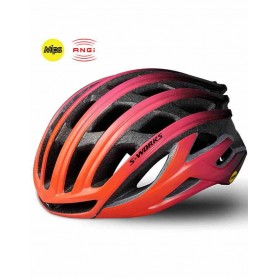 Casco Specialized S-Works Prevail II ANGI MiPS Amarillo