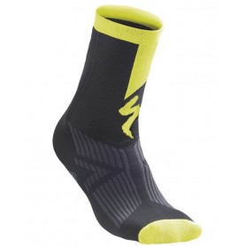 Calcetines Specialized SL Elite Winter Negro Amarillo