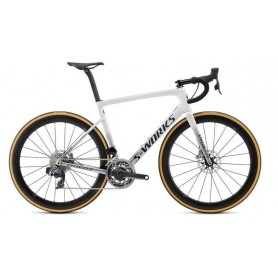 Bicicleta Specialized Tarmac Disc Etap SL6 S-Works 2019 Blanco
