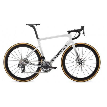 Bicicleta Specialized Tarmac Disc Etap SL6 S-Works 2019 Blanco