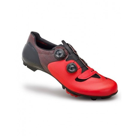 Zapatillas Specialized S-Works 6 XC Mountain Bike rojo-negro