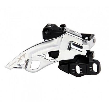 Desviador delantero Shimano XT 3X10 velocidades