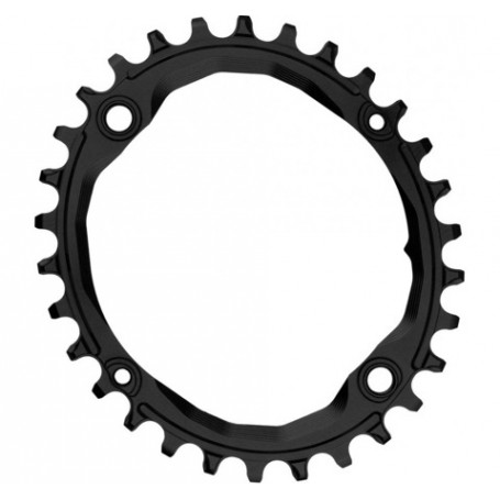Absolute Black Oval 104 & 64 BCD 30T Chainring