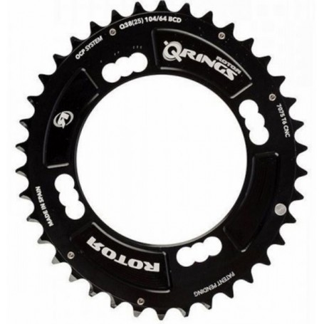 Rotor Q-Rings BCD104x4 40T Chainring