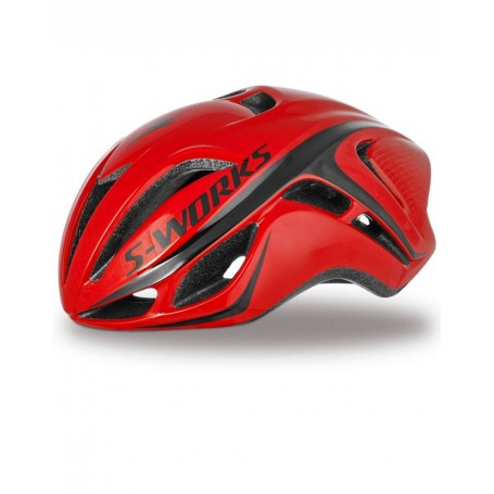 Casco Specialized S-Works Evade Tri rojo