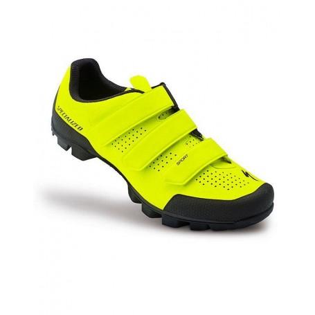 Zapatillas Specialized Sport MTB neon