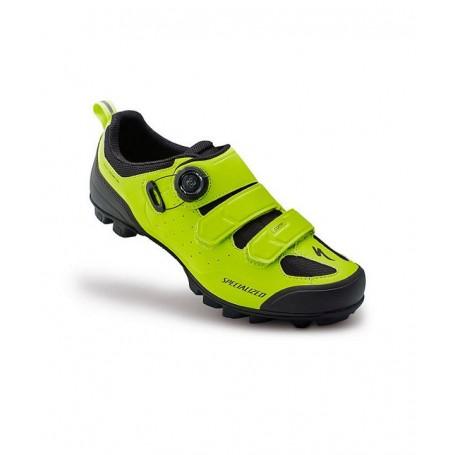 Zapatillas Specialized Comp MTB amarillo neon