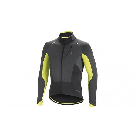 Specialized Element SL Elite jacket black neon yellow