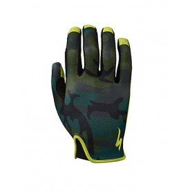 Guantes largos Specialized LoDown verde camuflaje