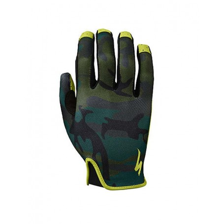 Specialized LoDown long finger gloves green camo