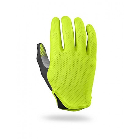 Guantes largos Specialized Grail neon