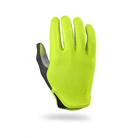 Specialized Grail long finger gloves neon