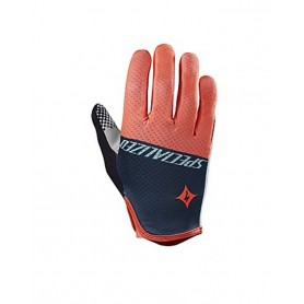 Guantes mujer largos Specialized Grail coral neon