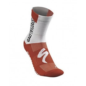 Calcetines Specialized SL Team Expert Summer rojo blanco