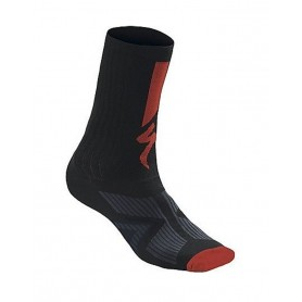 Calcetines Specialized SL Elite Summer negro rojo