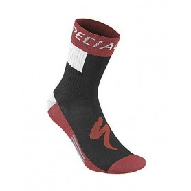 Calcetines Specialized RBX Comp Logo Winter rojo negro