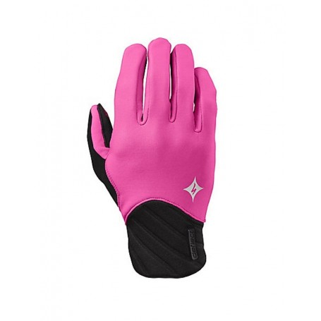 Specialized woman Deflect long finger gloves pink
