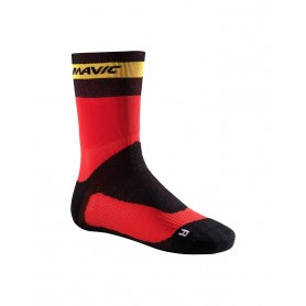 Mavic Ksyrium Pro Thermo+ socks red