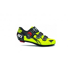 Sidi Genius 5-Fit Carbon shoes neon yellow