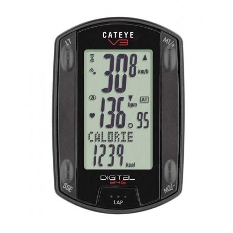 Cateye V3 heart rate monitor