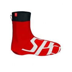 Specialized Elastane shoe cover red