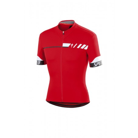 MAILLOT SPECIALIZED SL ELITE ROJO/BLANCO