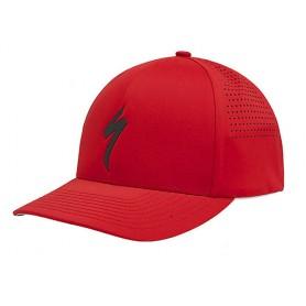 Gorra Specialized Delta FlexFit - Rojo Logo 64818-1602