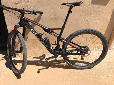 Specialized SWorks Epic 2017 used with Shimano XTR Electronic