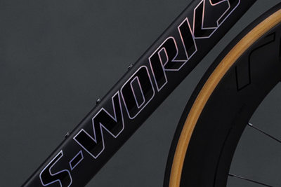 Great weight reduction of the diagonal tube in the SWorks Venge