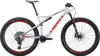 Specialized S-Works Epic AXS en color blanco